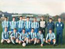 Penicuik Athletic Season ?: Back row: Cant, Dick, McTighe, Gilder, Owenson, McCrossan, McQueen, Reid: Front row: McNaughton, Glen, Mitchell, McCulloch, Weir, Ballantyne