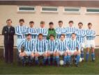 Penicuik Athletic Season 1987-1988: Backt row: Turnbull, Cant, Taylor, Mone, Gilder, McCormack, Bennett: Front row: McQueen, Mitchell, Dick, Cronin, McCulloch