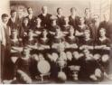 Penicuik Athletic season 1908 -1909. Winners of East of Scotland, Marshall & Musselburgh Cups and Simpson Shield