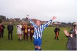 Skipper Craig Dick holds up the Supplementary Cup 2003